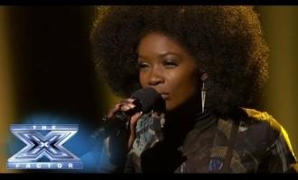 შესანიშნავი პერფორმანსი ამერიკულ X Factor-ში