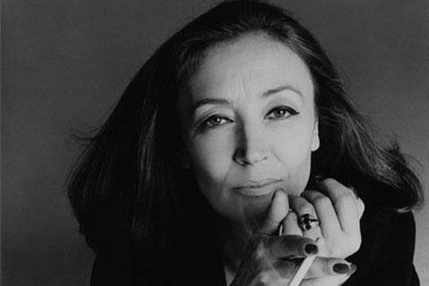 Oriana Fallaci by Francesco Scavullo 1990