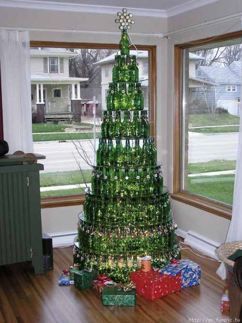 Grolsh-bottle-christmas-tree
