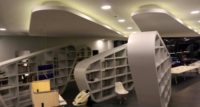 მიხეილ სააკაშვილი საპრეზიდენტო ბიბლიოთეკის ფოტოებს აქვეყნებს