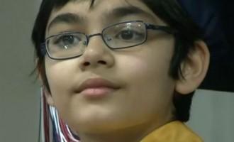 10 წლის ვუნდერკინდმა ამერიკის სკოლის ატესტატი აიღო