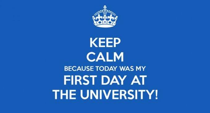 პირველი სასწავლო დღე უნივერსიტეტში – აი ის მომენტი, პირველკურსელობა რომ სახეზე გეტყობა..