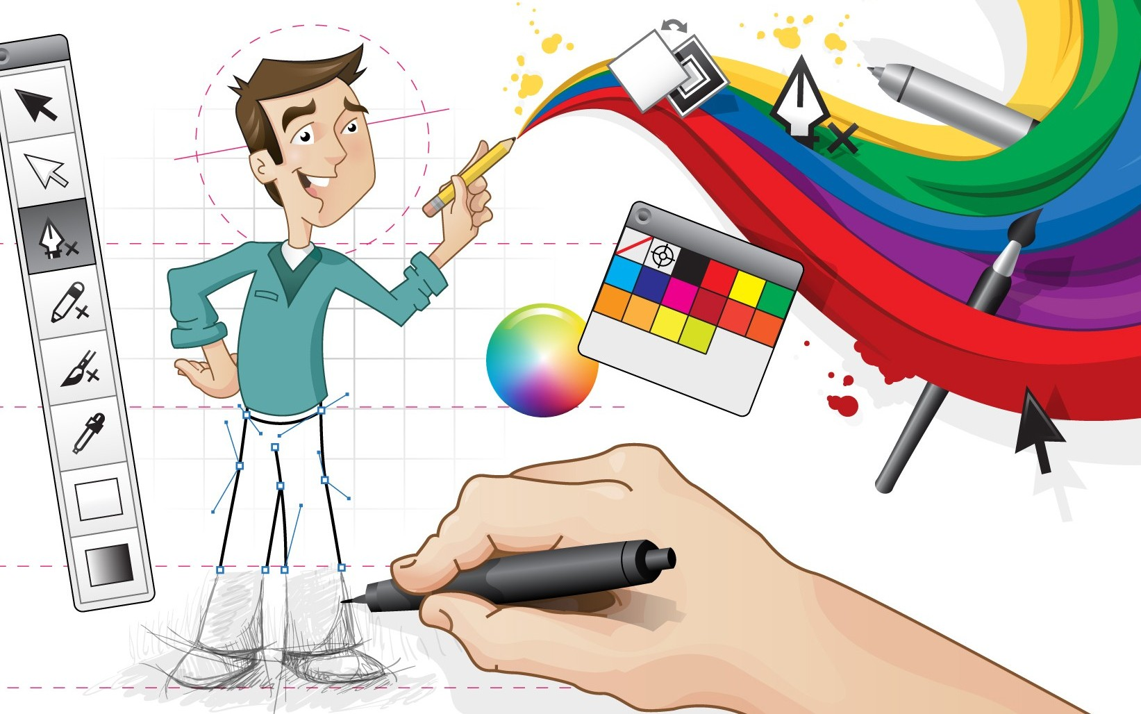 Дизайн графика онлайн