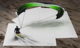 3D ნახატები რამონ ბრუინისგან
