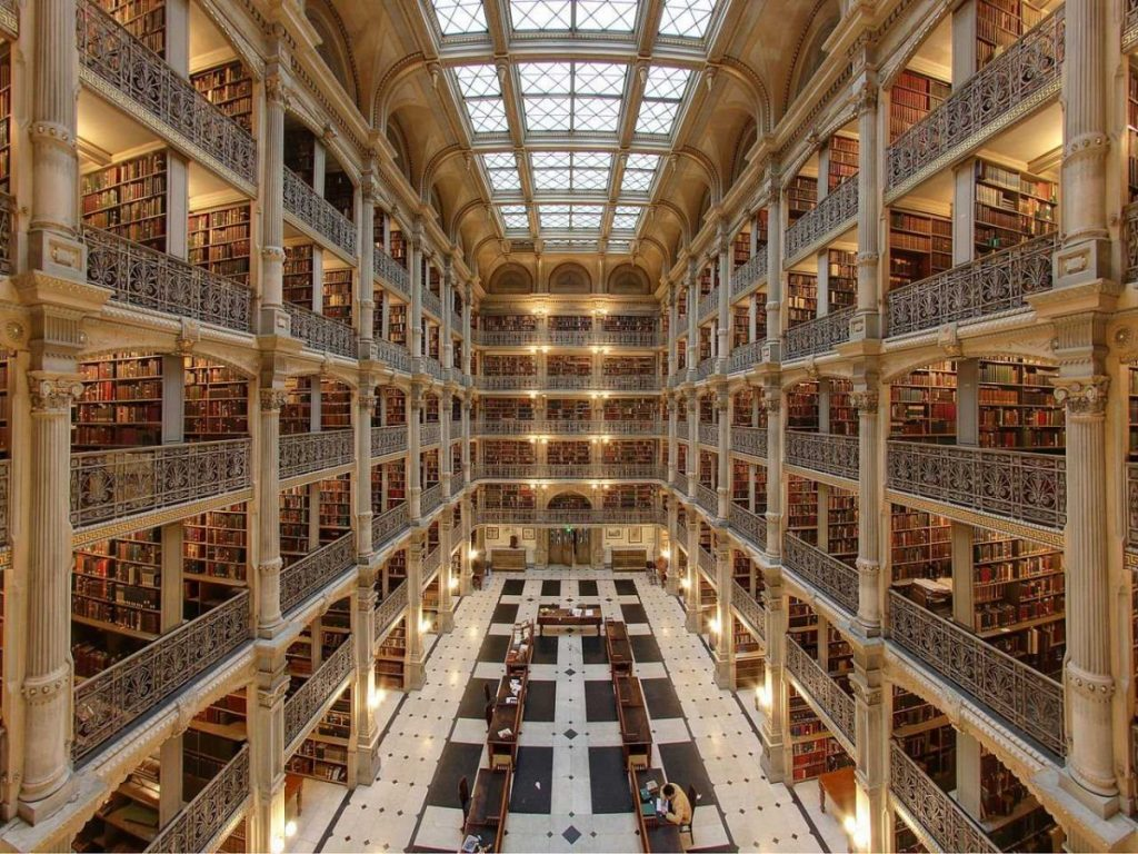 george-peabody-library-interior