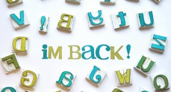 ისევ დავბრუნდი