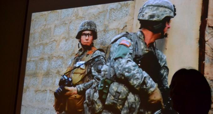შეხვედრა ცნობილ სამხედრო ფოტოგრაფთან სტეისი პირსალთან