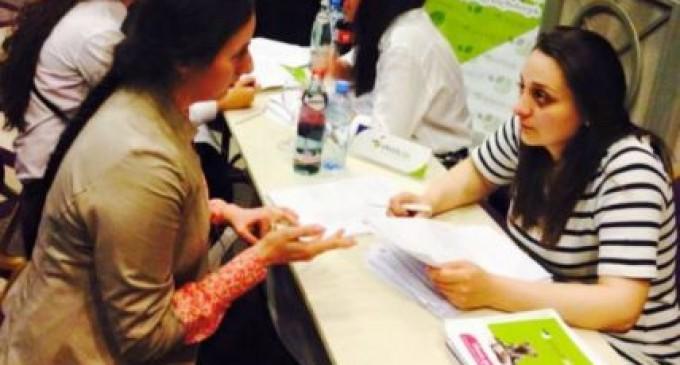 ქუთაისის უნივერსიტეტის სტუდენტებმა დასაქმების ფორუმში მონაწილეობა მიიღეს