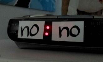 როცა ლექცია ცხრა საათზე მეწყება