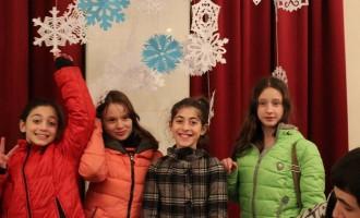 სტუდენტების საახალწლო საჩუქარი თავშესაფარში მყოფ ბავშვებს