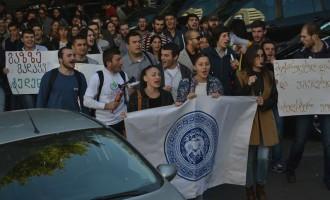 სტუდენტები თსუ-ის თვითმმართველობის წინააღმდეგ აქციას გამართავენ