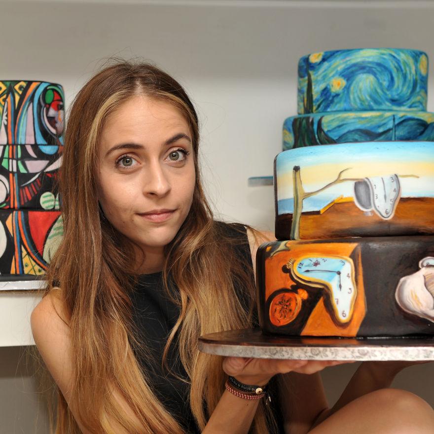 Cyprus-based-artist-recreates-famous-Paintings-on-Cakes-3__880