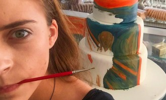 ახალგაზრდა ხელოვანის იდეა: ცნობილი ნახატები ტორტებზე ➤ ფოტო