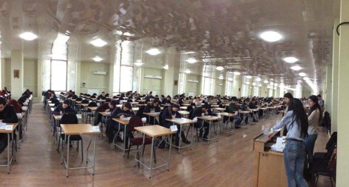 როგორ იქცევიან სტუდენტები გამოცდაზე შესვლის წინ (ვიდეო)