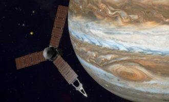 ხუთწლიანი მისიის შედეგად, Juno იუპიტერის მაგნიტოსფეროში შევიდა