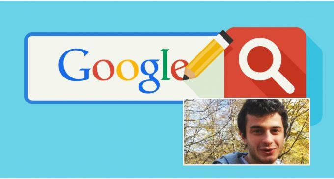 24 წლის ქართველი ბიჭი კომპანია Google-ში დასაქმდა