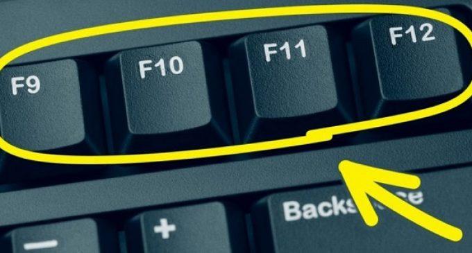 F1-F12 ღილაკების ფუნქციები ➤ ის, რაც ყველამ უნდა იცოდეს