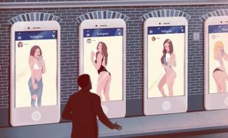 10 ილუსტრაცია – თანამედროვე საზოგადოების მანკიერი მხარეები