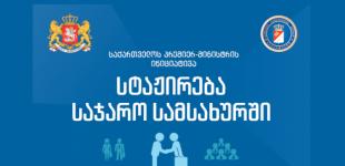 სტაჟირების სახელმწიფო პროგრამაზე სტუდენტთა საშემოდგომო რეგისტრაცია იწყება – 2019 წელი