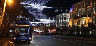 ახალი წლისა და შობის ღამეს საზოგადოებრივი ტრანსპორტი უფასო იქნება