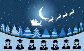 სად ხვდებიან სტუდენტები ახალ წელს და როგორია მათი საშობაო სურვილები?
