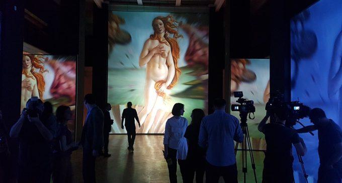 ეროვნული მუზეუმი მულტიმედიურ, თანამედროვე ტექნოლოგიებით შექმნილ გამოფენას მასპინძლობს