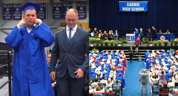 აუტისტი სტუდენტის პატივსაცემად გამოსაშვები საღამო სრულ სიჩუმეში ჩატარდა (ვიდეო)