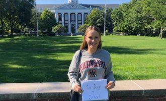 ყოფილი პირველი ჩოგანი, კაროლინ ვოზნიაცკი ჰარვარდის ბიზნეს-სკოლაში ისწავლის
