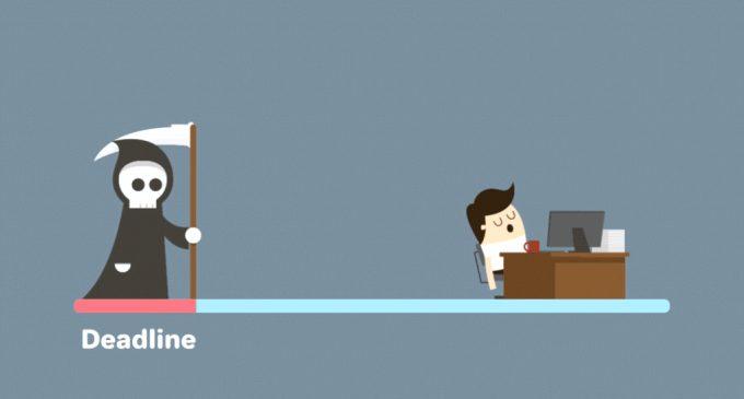 """""""დედლაინი"""" VS სტუდენტი – ანუ დროის მენეჯმენტის პრობლემა"""
