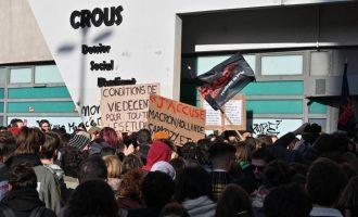 სტუდენტმა ფინანსური პრობლემების გამო თვითმკვლელობა სცადა – აქცია საფრანგეთში
