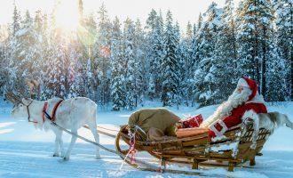 """""""დრო საუკეთესო საჩუქარია"""" – სანტას ტრადიციული მიმართვა ლაპლანდიიდან"""