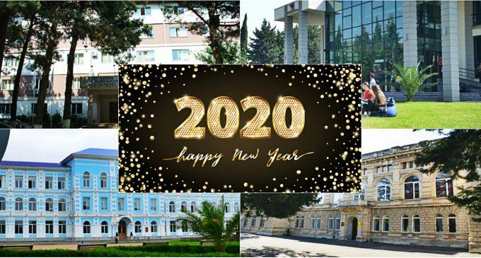 როგორ აღნიშნავენ დამდეგ ახალ წელს საქართველოს უნივერსიტეტები – NEW YEAR PARTY 2020